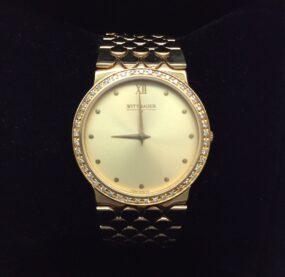 Wittnauer Diamond Bezel Unisex Watch