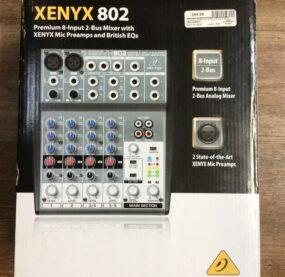 """Xenyx 802 """"Behringer"""""""