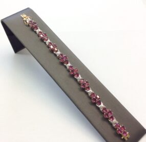 Diamond & Ruby Bracelet