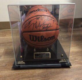 1987 Lakers Championship Ball